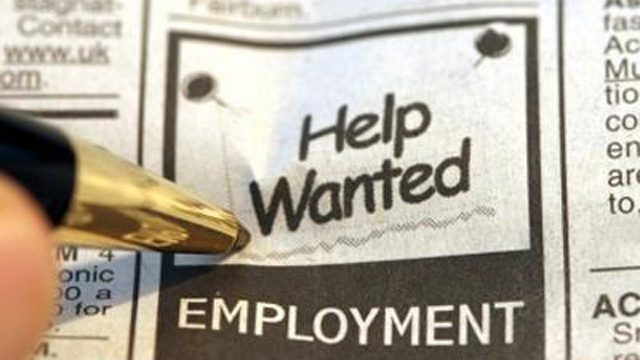 Unemployment payrolls and labor force down in Pa