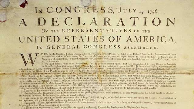 NPR Tweets Declaration of Independence, Trump Supporters Call It 'Propaganda'