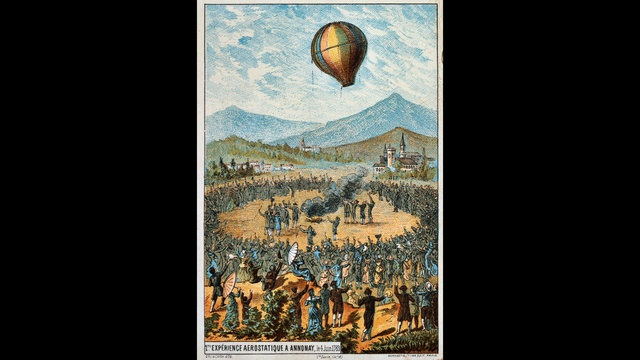 OTD June 4 - Montgolfier balloon_2039286265793457