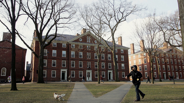 The majority of Harvard's incoming class is nonwhite
