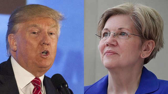 Warren wants law to force Trump to sell his businesses