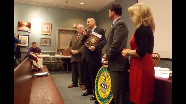 Bucks County honors Director of Emergency Services