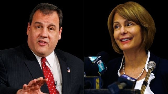 Republican Chris Christie, Democrat Barbara Buono to meet in New Jersey governor's race debate