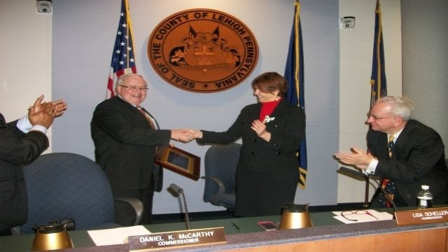 Dan McCarthy steps down after 12 years as Lehigh County Commissioner
