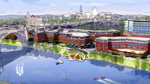 Allentown's Lehigh River Master Plan wins award