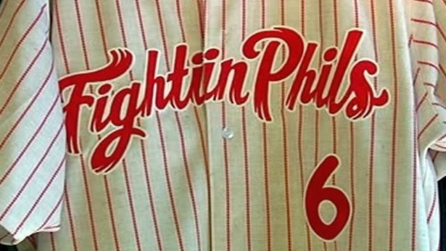 Ashburn's son among VIPs at Fightin Phils' home opener