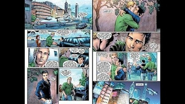 Green Lantern relaunched as brave, mighty and gay superhero