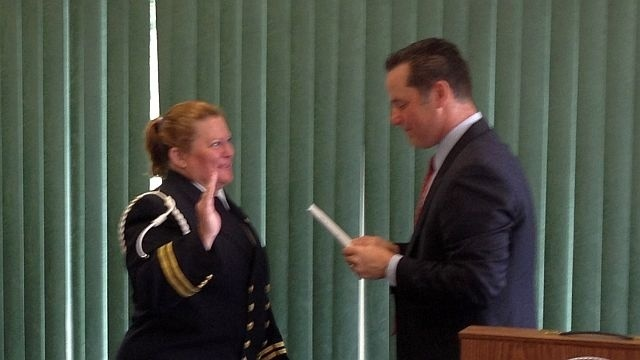 Bethlehem's female fire chief appointee withdraws