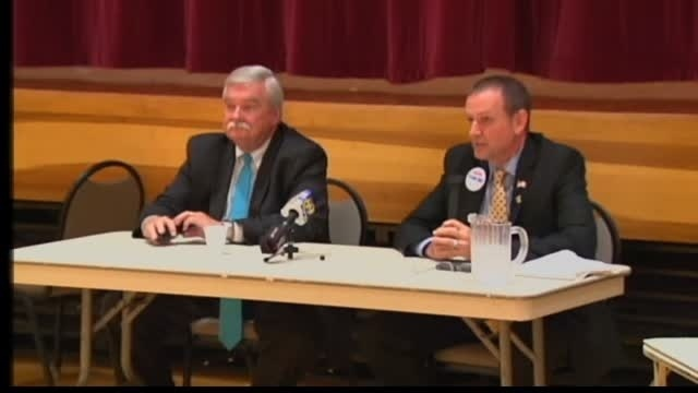 Lehigh County executive candidates take off the gloves and come out swinging