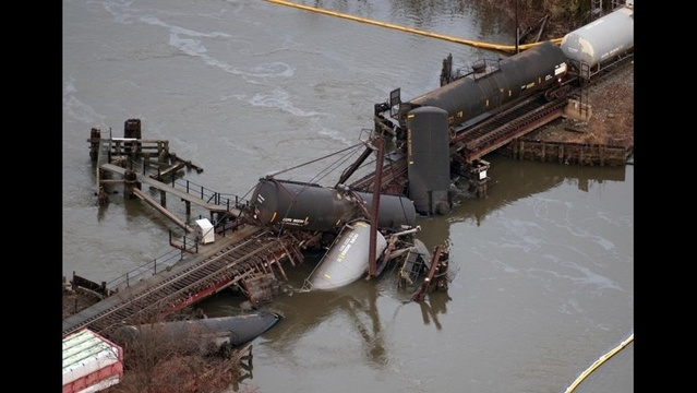 Delicate cleanup ahead after NJ train derailment