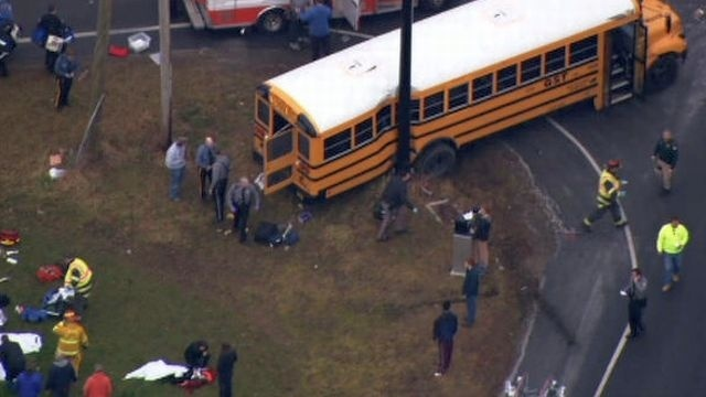 Deadly school bus crash in New Jersey prompts calls for new vehicle technology
