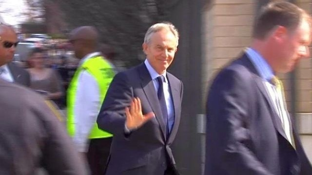 Blair speaks candidly about troubles facing world leaders