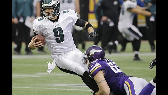 Last-place Vikings snap Eagles winning streak