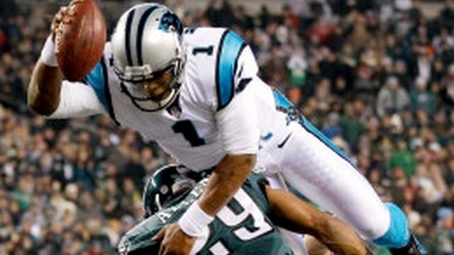 Eagles continue downward spiral with 30-22 loss to Panthers