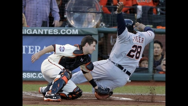 Giants go up 2-0 in World Series with Game 2 win over Tigers