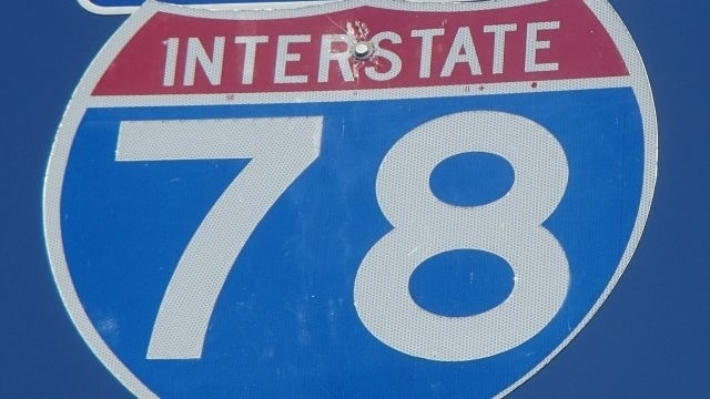 Comcast cable wire installation will briefly stop traffic on Interstate 78 on Wednesday