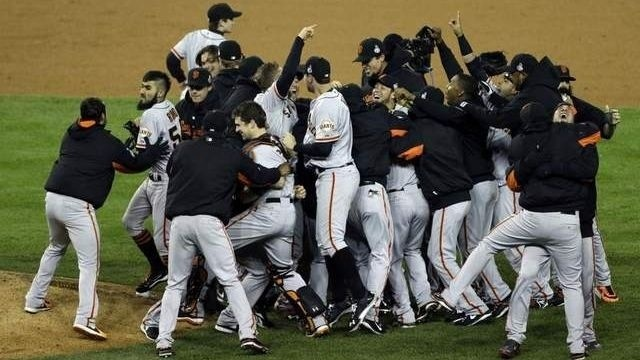 With a sweep, Giants are Champions again