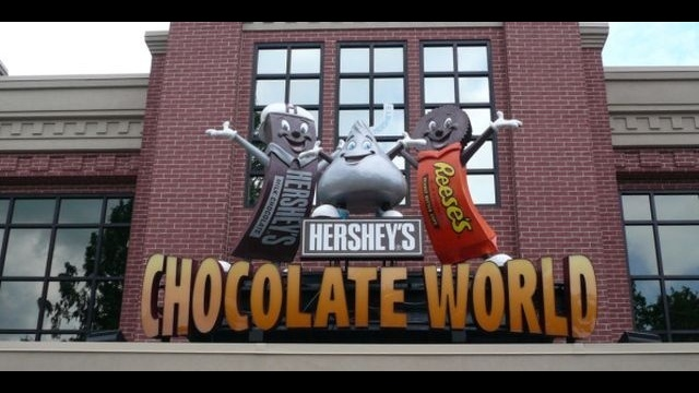 Hershey's Chocolate World reports record traffic