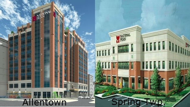 National Penn to relocate HQ to Allentown, open business center in Spring