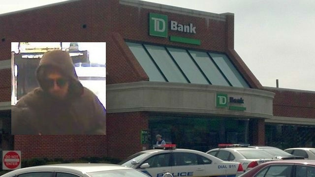 Police follow tip, catch man in connection with bank robbery