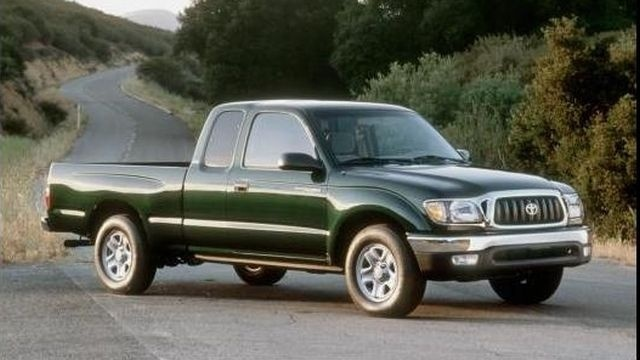 Toyota recalls pickups; spare tires can come loose