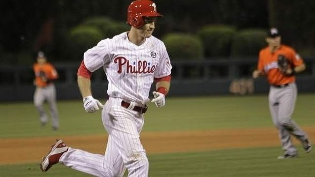 Utley's walk-off homer in 14th lifts Phillies over Marlins