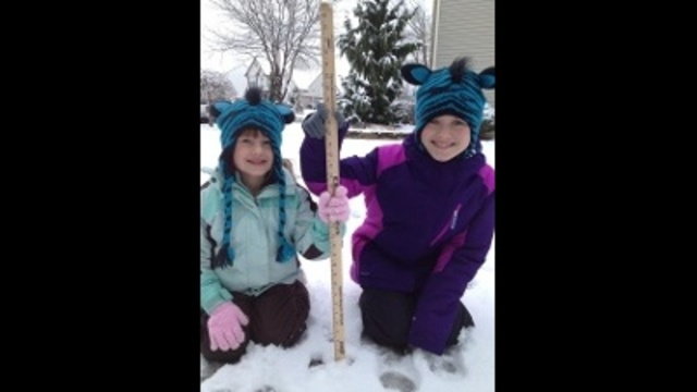 Maddie and Lilianna with their storm stick _)_23417870