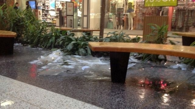 Berkshire Mall, hit hard by hail, reopens to shoppers