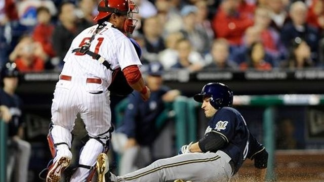 Phillies unable to slow down Brewers in 6-2 loss