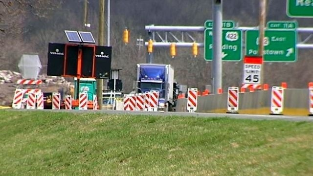Rebuilt ramp opens between Route 422 East, I-176 South