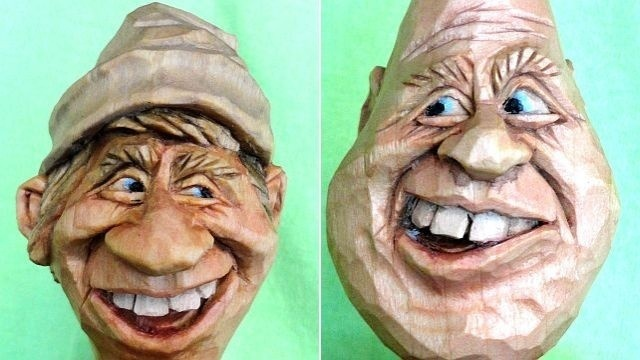 Arts Around Town: Caricature carver Pete LeClair creates from 'eggs-aggeration'
