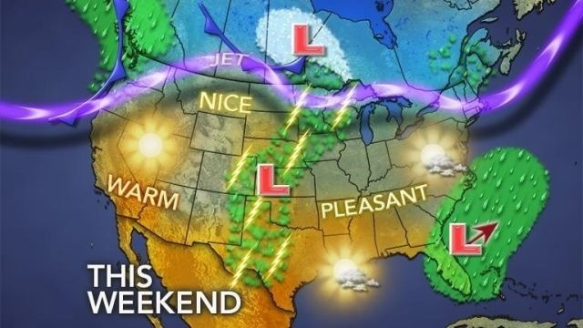 Mild Easter weekend on the way
