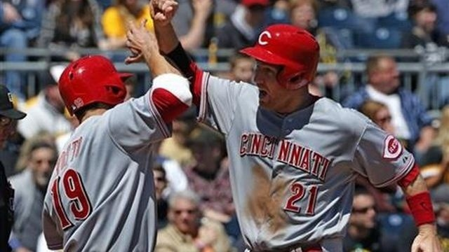 Pirates fall to Reds for 6th loss in 7 games