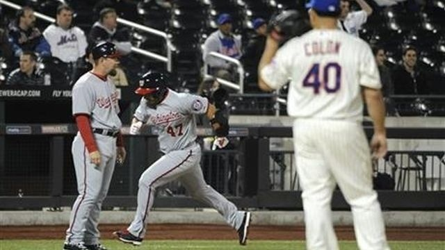 Nats cruise past Mets 5-1