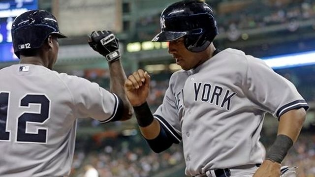Solarte's 3 hits lead Yankees over Astros, 4-2
