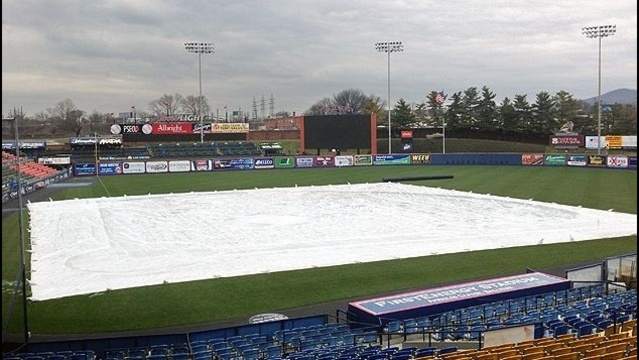Reading Fightin Phils game rained out; doubleheader set for May 19