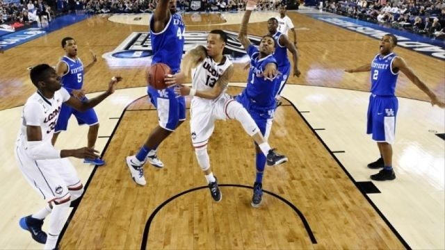 Connecticut clinches NCAA title over Kentucky, 60-54