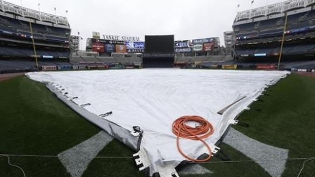 Mariners-Yankees postponed by rain; June 2 makeup