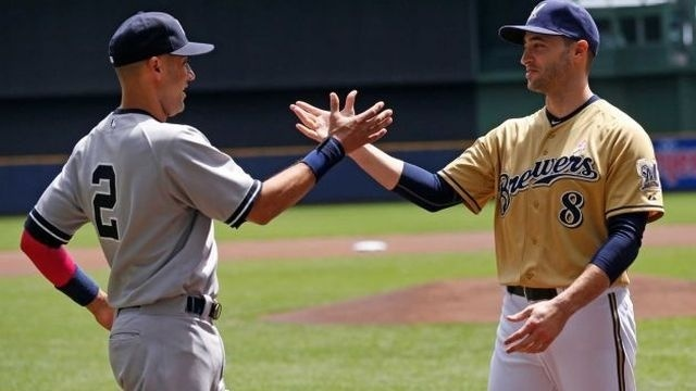 Reynolds lifts Brewers past Yankees 6-5