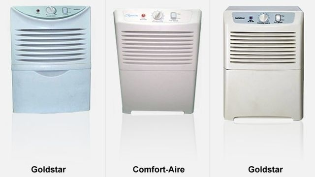 Recall for dehumidifiers renewed as fire claims increase
