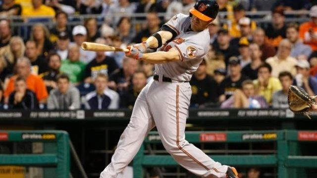Davis hits 3 homers as Orioles beat Pirates 9-2