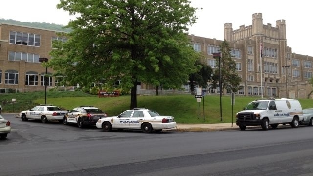 Police investigate bomb threat at Reading High School