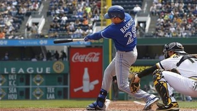 Ramsus hits grand slam, Blue Jays beat Pirates