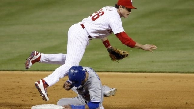 Kendrick loses again, Phils fall 3-0 to Jays