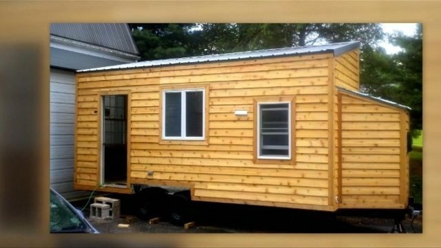 Schuylkill County man taking tiny house to college