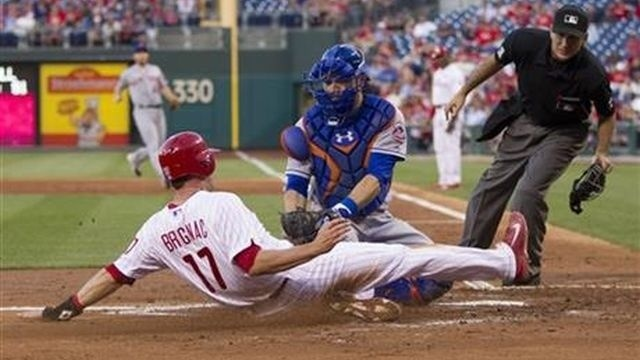 Colon, Flores lead Mets past Phillies