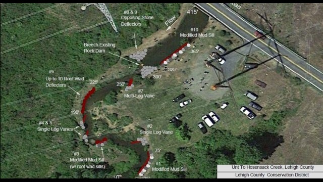 New project will enhance water quality at Hosensack Creek