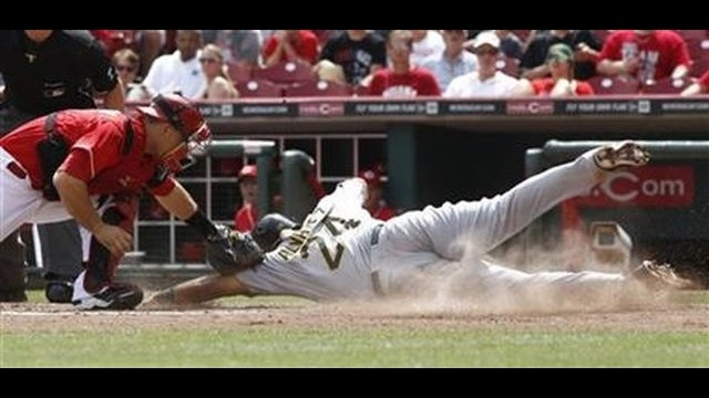 Liriano rusty in Pirates' 6-3 loss to Reds