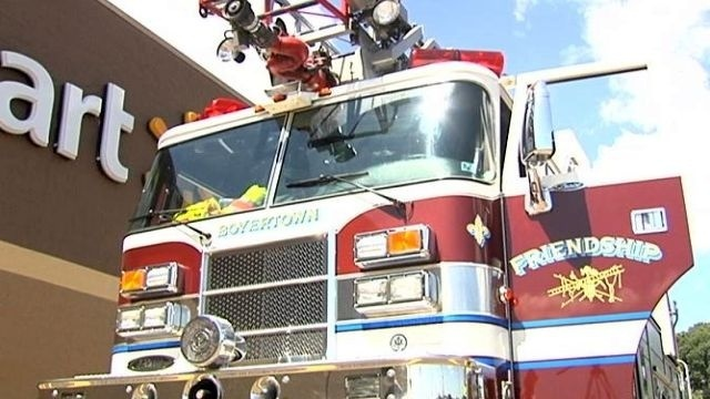 Walmart awards grant to Boyertown Area Fire and Rescue