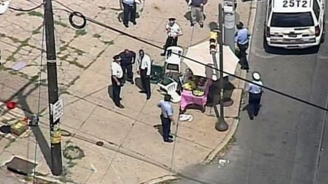 Carjacked SUV hits crowd in Philadelphia; 3 children killed